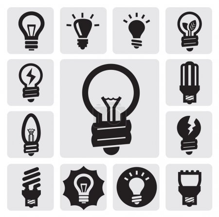Bulbs icons