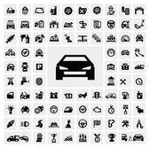 "Постер, картина, фотообои ""авто символы"""