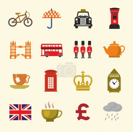Uk icon set