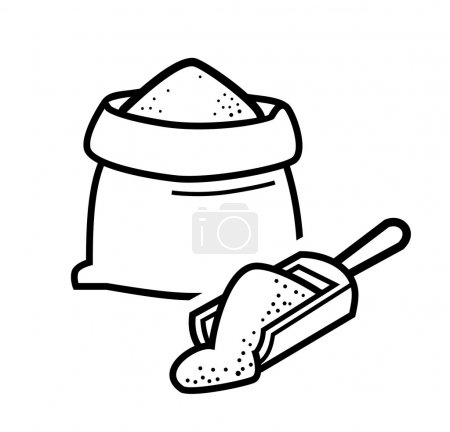 Bag flour