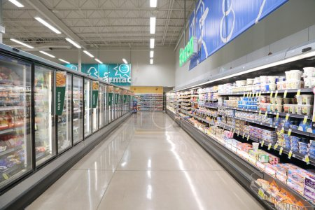 Photo for Frozen foods in supermarket - Royalty Free Image