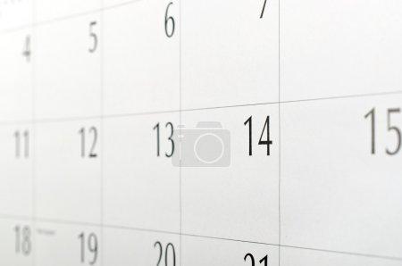 Macro calendar background