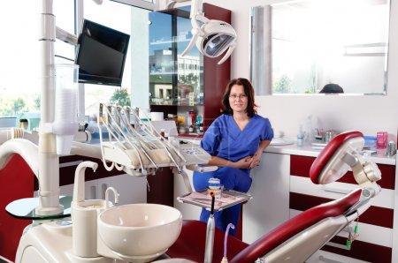 Stomatology doctor portrait