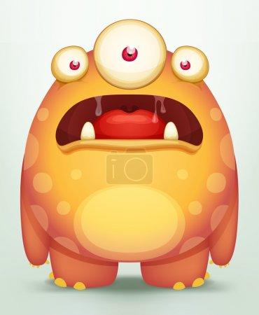 Cartoon Monster...
