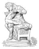 Edward Jenner, vintage engraving