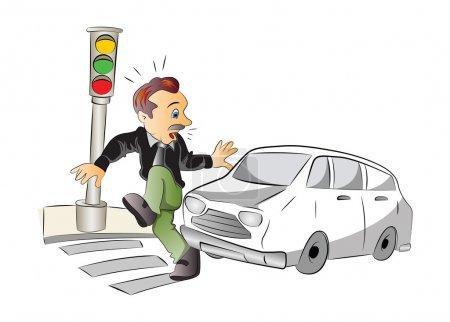 Road Safety, illustration