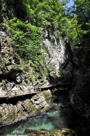 Vintgar gorge near Bled, Slovenia