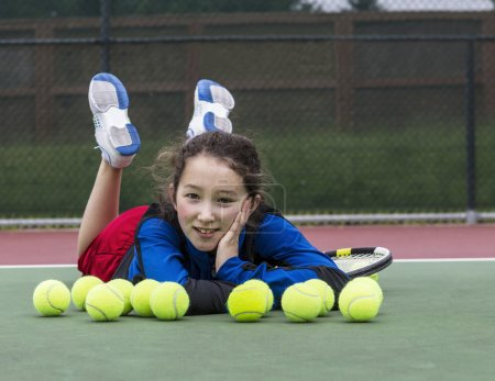 Having Fun on the Tennis Court