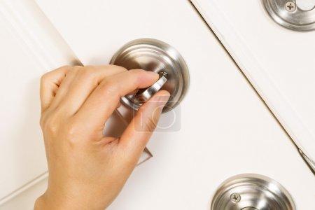 Locking the Front Door