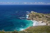 The coast at Cape Point in South Africa