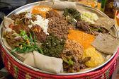 Injera be wot, traditional Ethiopian Food
