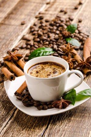 Photo pour Tasse à café Vintage - image libre de droit