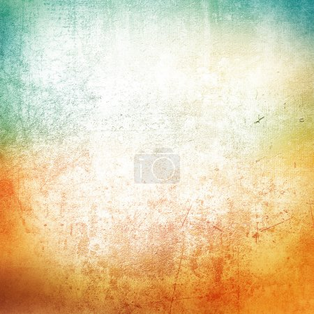 Photo for Green and orange grunge background - Royalty Free Image