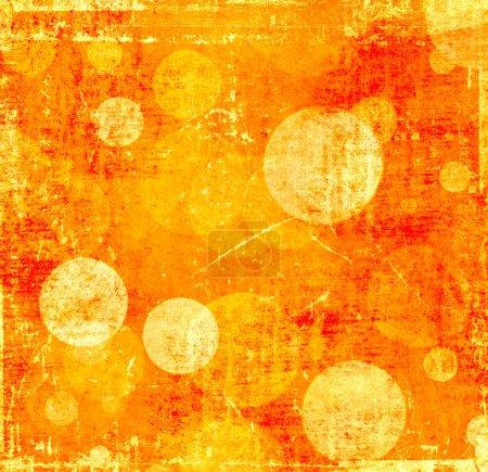 Photo for Grunge orange background - Royalty Free Image