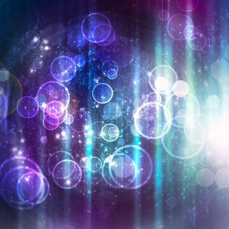 Abstract shine background with stars