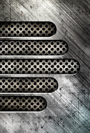 Iron abstract background