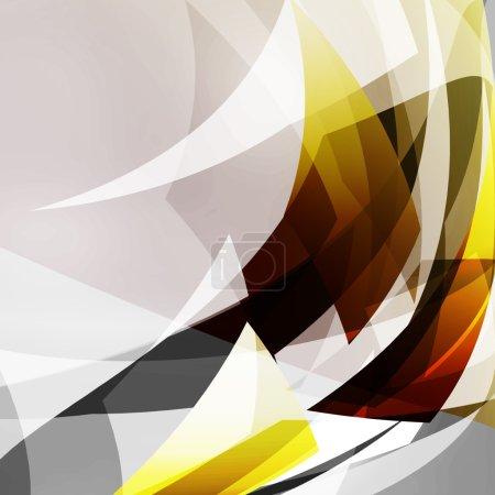 Photo pour Moderne géométrique Fond abstrait avec place pour le texte - image libre de droit