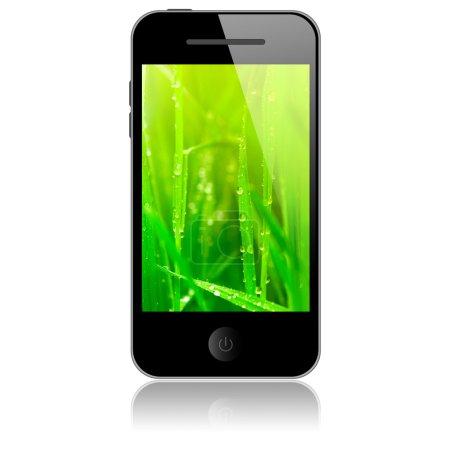 Photo pour Telephone cellulaire - image libre de droit