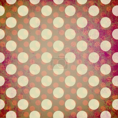 Photo pour Abstrait grunge fond pointillé - image libre de droit