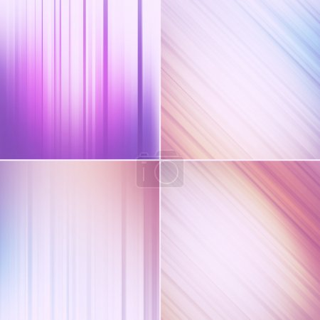 Photo for Abstract background set - Royalty Free Image