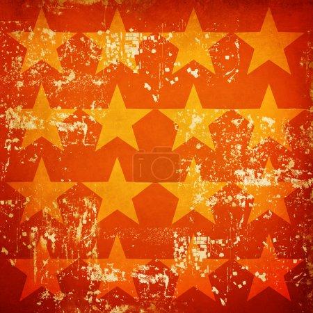 Photo pour Grunge étoiles fond - image libre de droit
