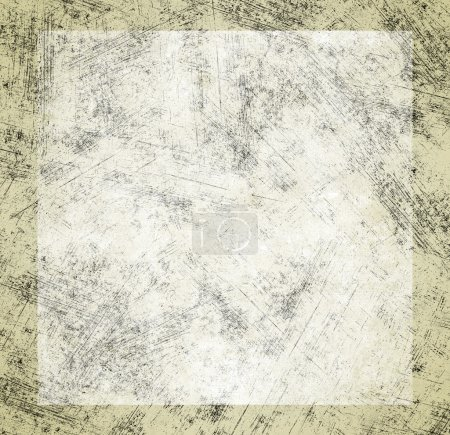 Photo for Grunge shabby background with white square - Royalty Free Image