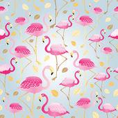 texture of pink flamingos