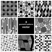 graphic set of different patterns
