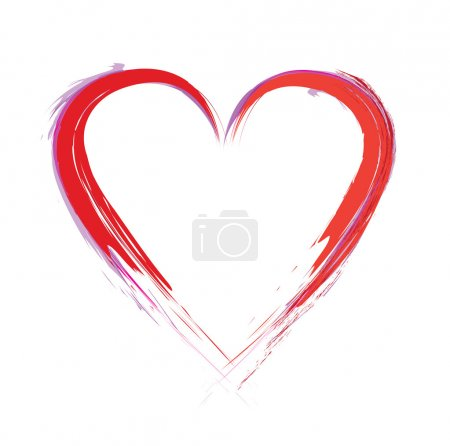 Photo for Paint heart - Royalty Free Image