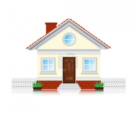 Photo for Icon house concept - Royalty Free Image