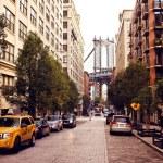 Manhattan bridge,view from Washington street, Broo...