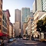 San Francisco City center during summer day...