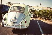 Vintage car in San Diego
