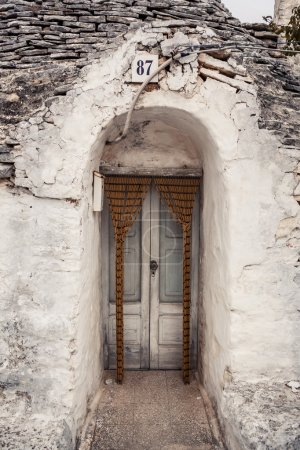 Trulli house in Alberobello, Italy