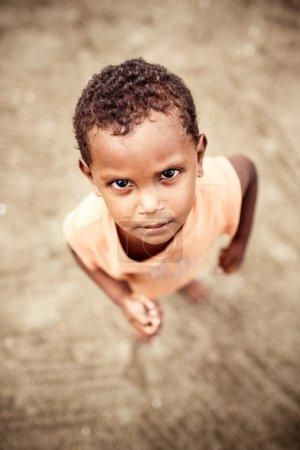 Photo pour Jeune garçon, République dominicaine - image libre de droit