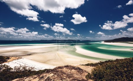 Whitehaven beach in Australia