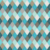 Seamless argyle pattern Diamond shapes background