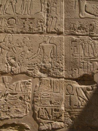 Photo pour Temple de Karnak à Louxor - image libre de droit