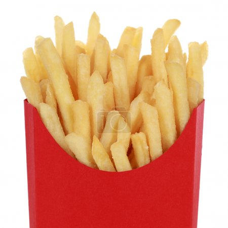 Portion of French fries