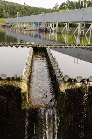 sewage treatment sedimentation. Drinkable water
