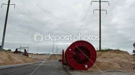 Electricity cable reel