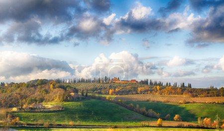 Early morning on Tuscany