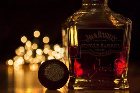 Photo pour Seul canon de Jack Daniel - image libre de droit