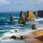 Dramatic beautiful 12 apostles in Australia...