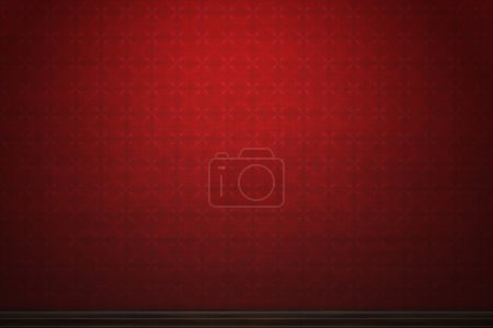 Dark red patterned vintage wallpaper background