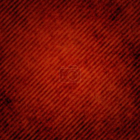 Red grunge abstract stripped background or texture