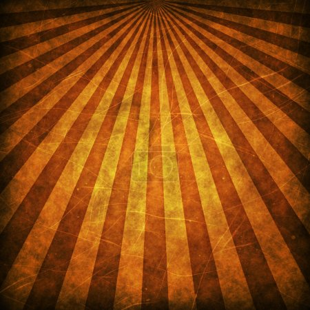 Photo for Brown grunge sunbeams background or texture - Royalty Free Image