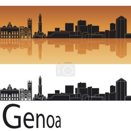 Genoa skyline