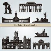 Madrid landmarks and monuments