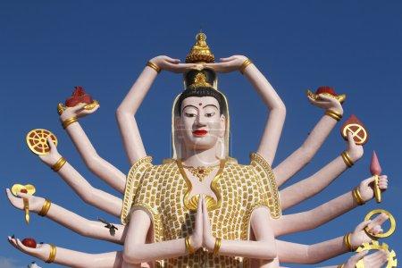 Wat Plai Laem temple-Samui-Thailand...